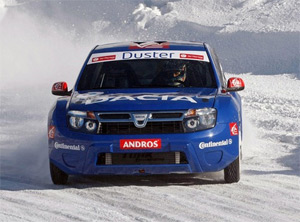 Dacia Duster ICE - новинка 2010 года