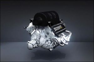 турбомотор V6 Power Unit 2014