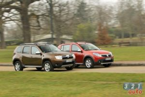 Duster vs Stepway 002