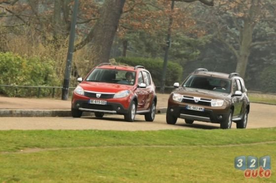 Duster vs Stepway 024